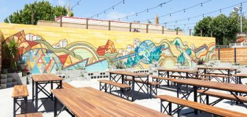 Beer Garden at Temescal Brewing